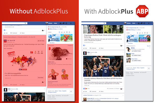 Facebook vs Adblock Plus