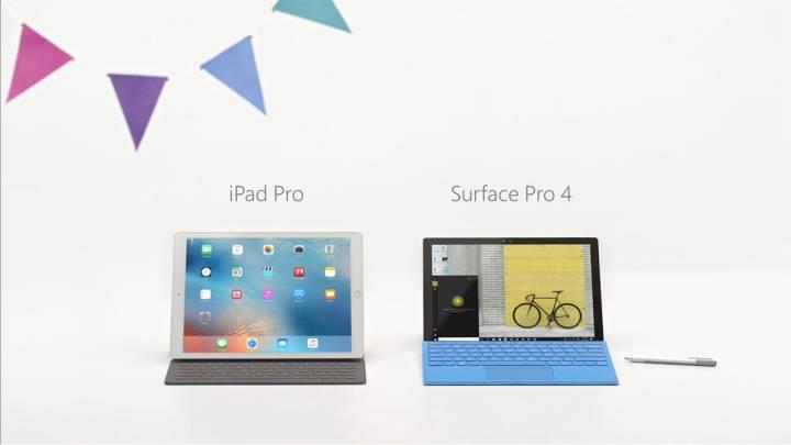Surface vs iPad Pro