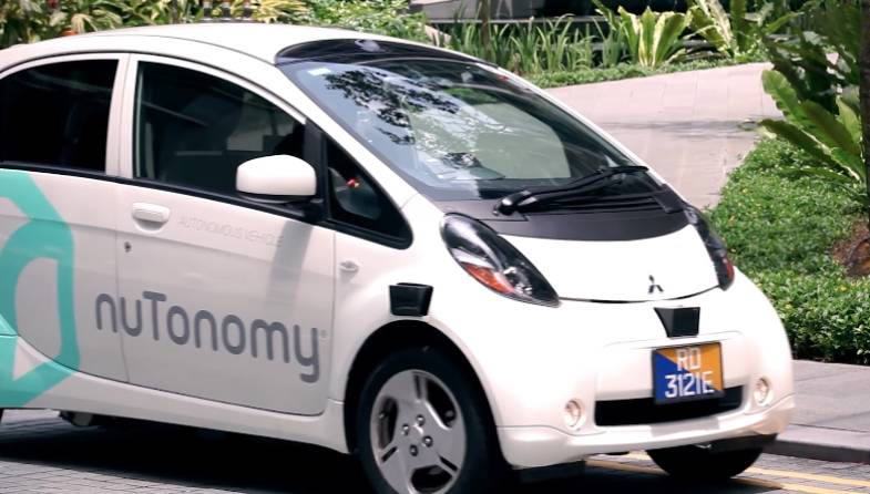 Self-driving Taxi Service nuTonomy