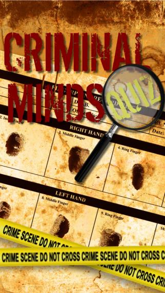 Quiz for Criminal Minds