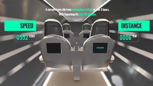 Hyperloop Speed Experience