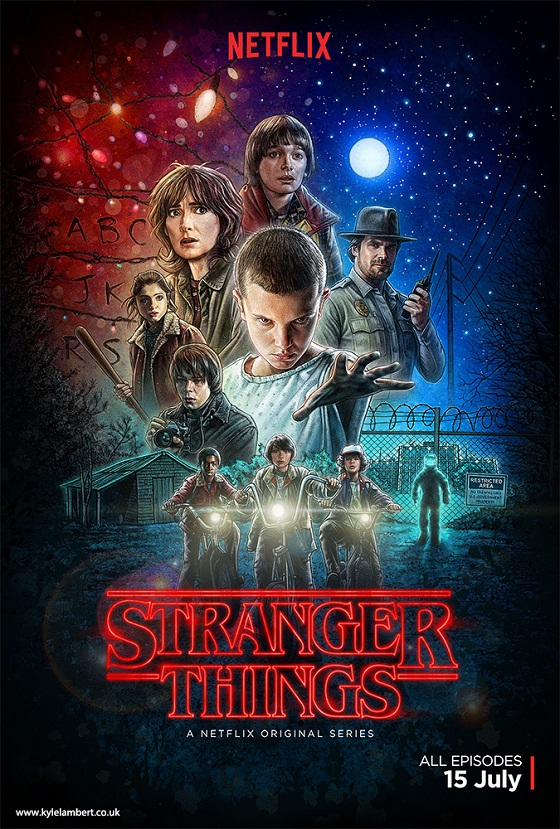 stranger things poster lambert