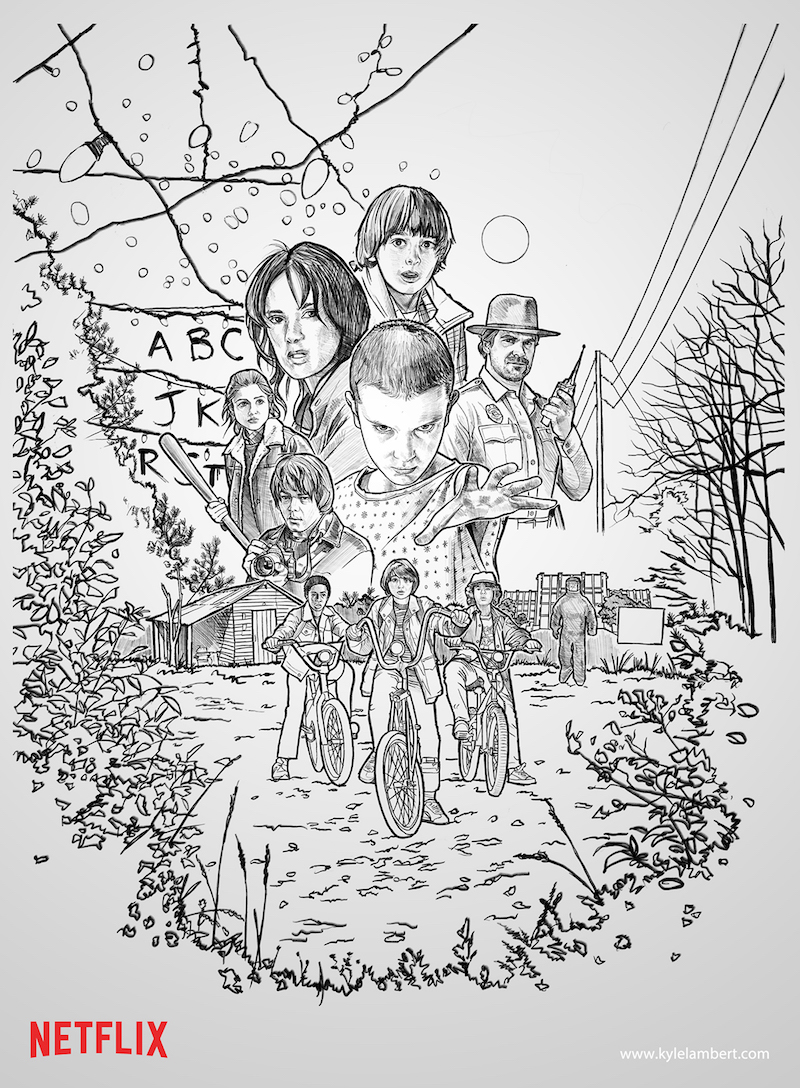 stranger things sketch