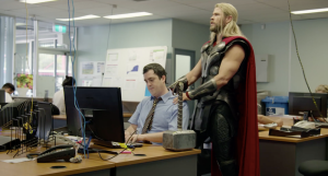 What Was Thor Doing During Civil War