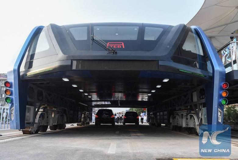 China Transit Elevated Bus
