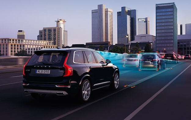 Volvo S90 Self Driving
