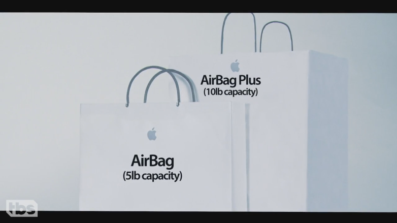 Conan Apple AirBag Video