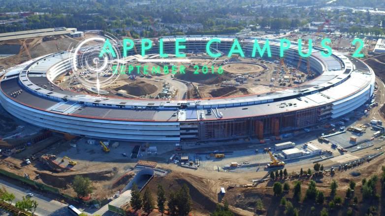 Apple Campus Video