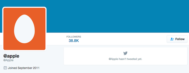 apple twitter generic