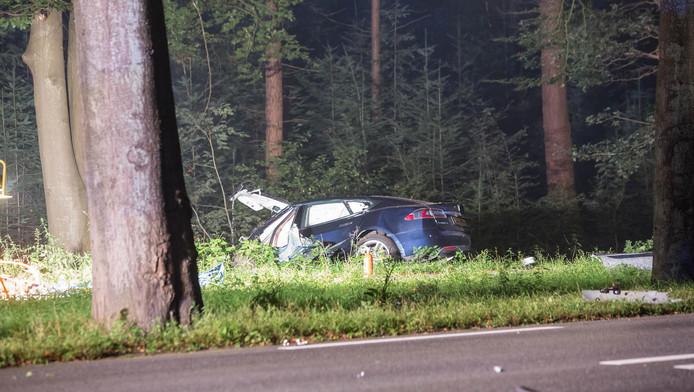 Fatal Tesla Accident Netherlands