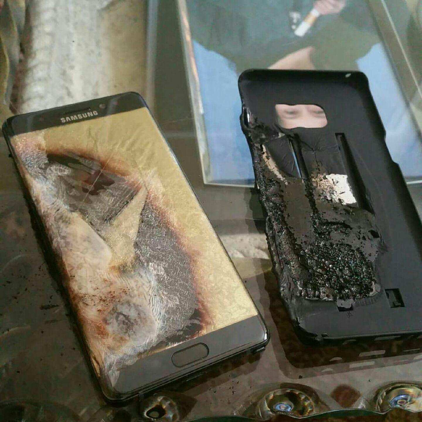 Galaxy Note 7 Fires