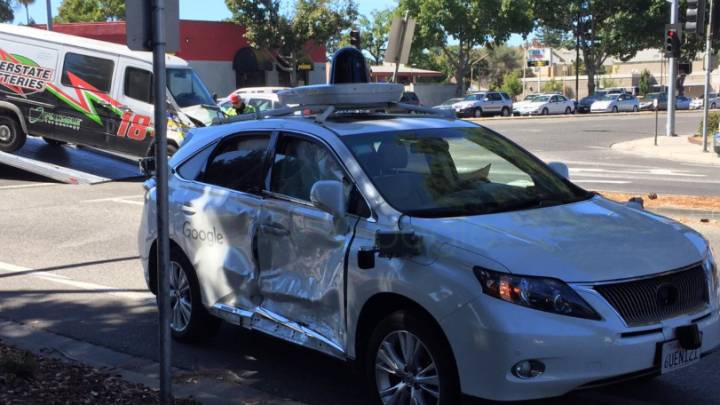 Google Self-Driving Car Worst Accident