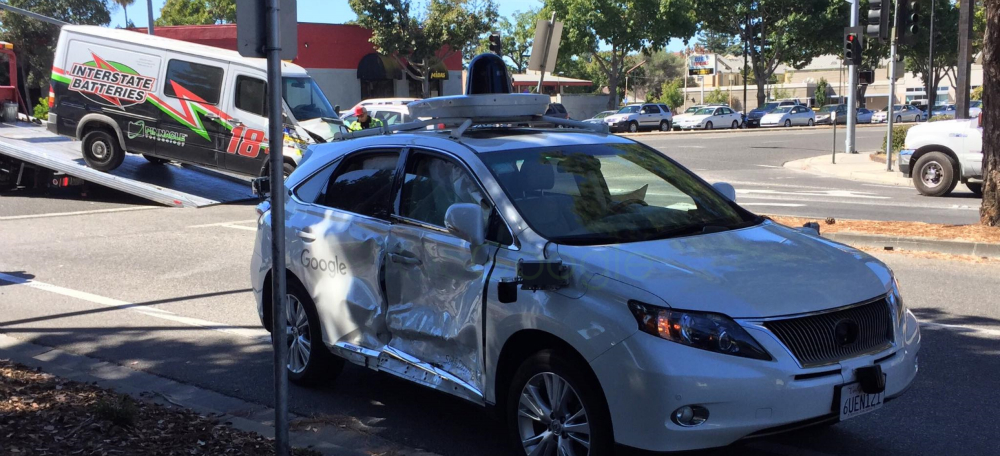 Google's self-driving car: This is the worst accident | BGR