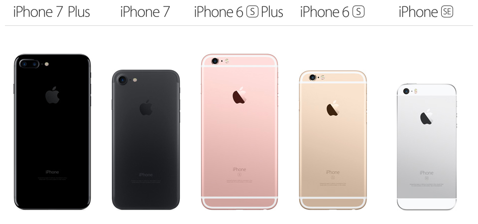 iphone 7 iphone 6s and iphone se this is apple s fall