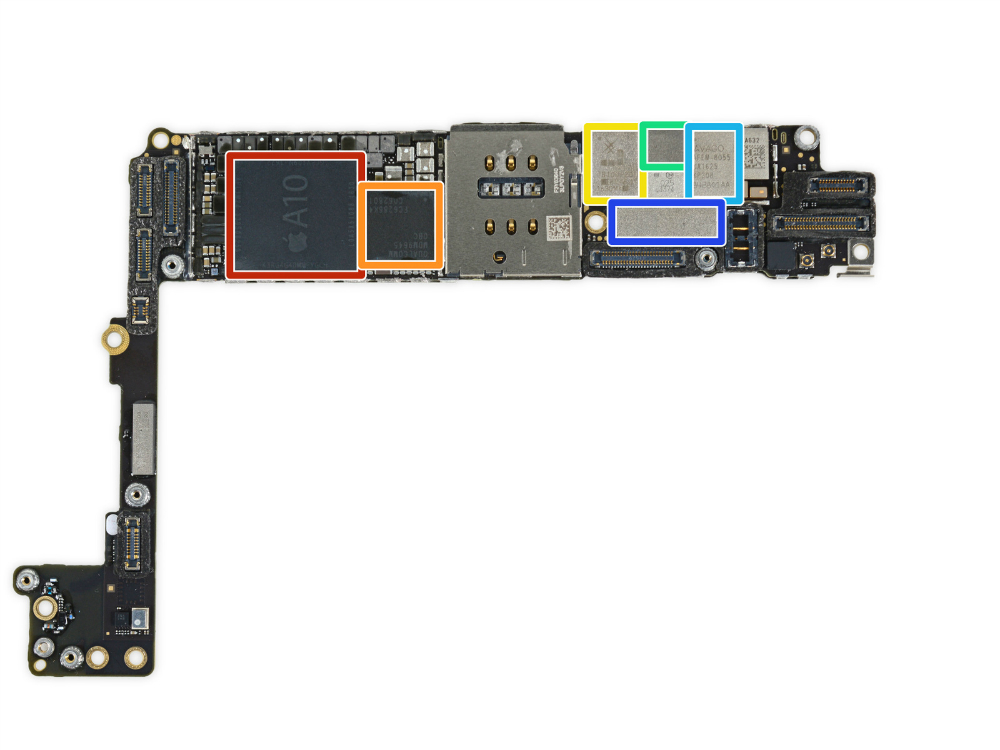 iphone-7-plus-ifixit-teardown-a10-fusion-chip-3gb-samsung-ram