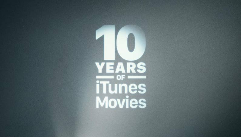 iTunes Store movie purchases
