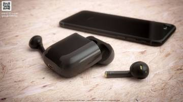 iPhone 7 Jet Black AirPods