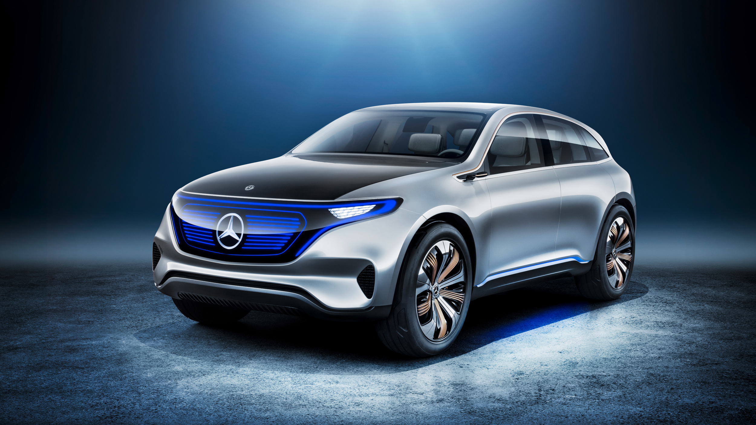 This is the generation eq stunning photos and video for What is the newest mercedes benz