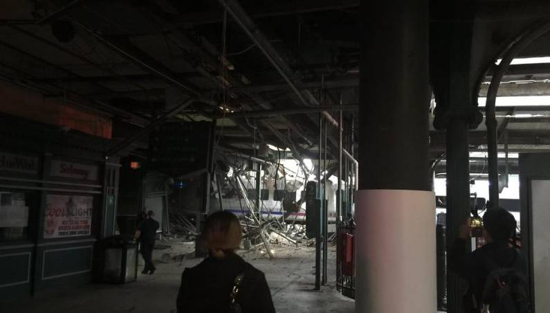 New Jersey Train Crash Hoboken