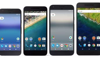 Pixel vs. Pixel XL vs. Nexus 5X vs. Nexus 6P