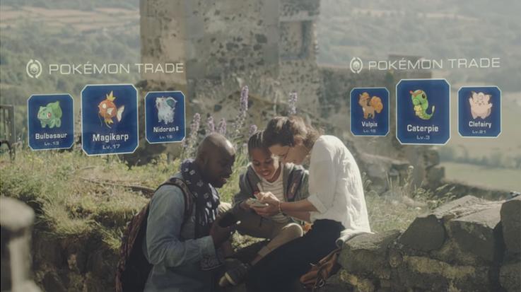 Pokemon Go Trading System Leak