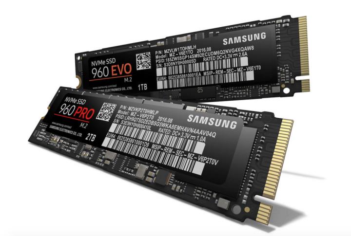 Samsung 960 Pro Evo SSD