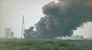 SpaceX Rocket Explosion
