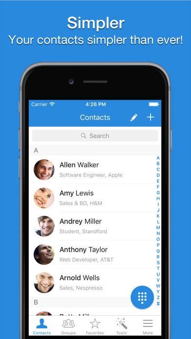Simpler Contacts Pro