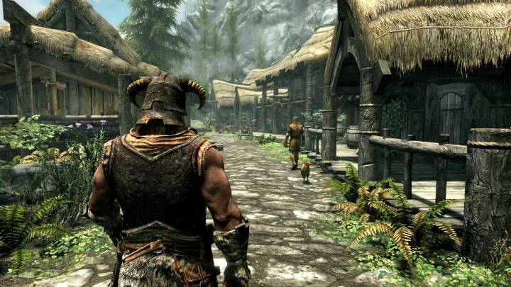 Skyrim PS5 mod
