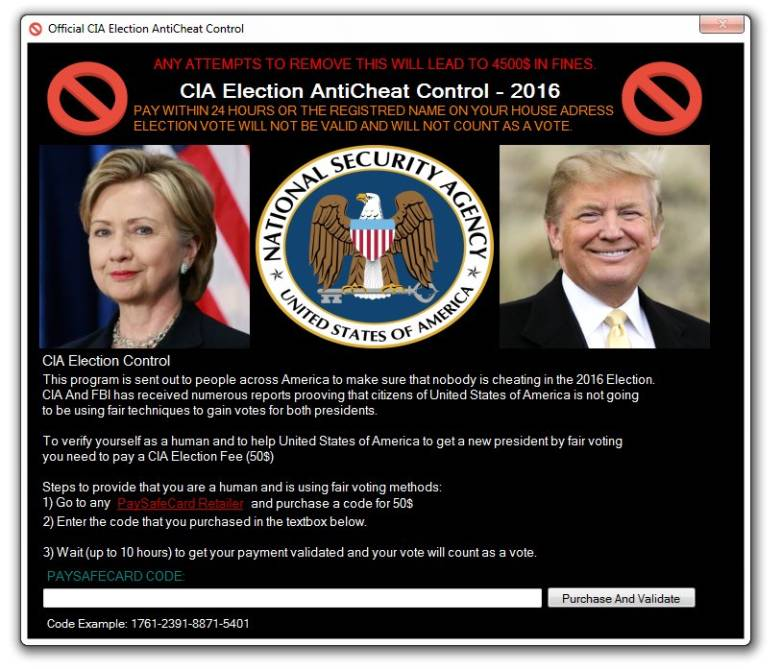 CIA Election Malware