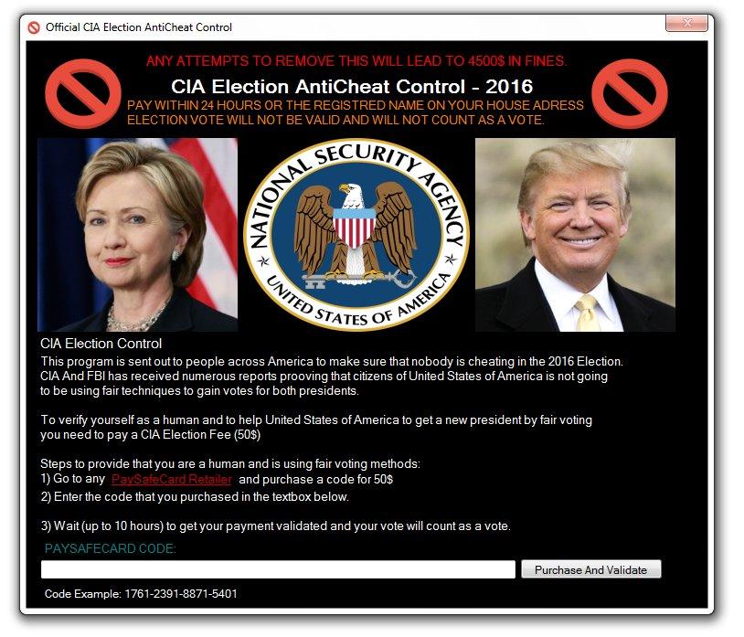 CIA Election Malware