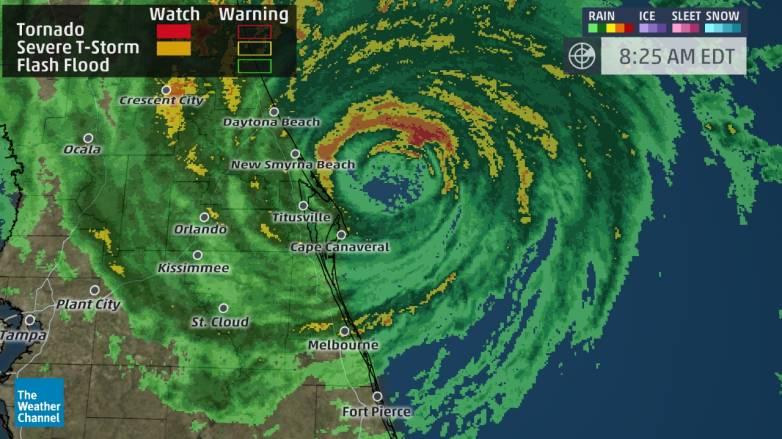 Hurricane Matthew Path Update