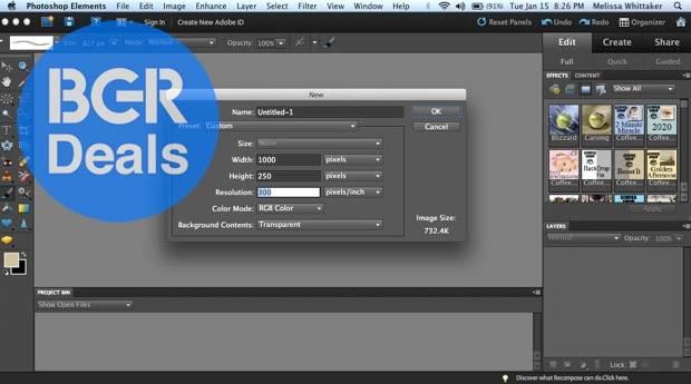 Adobe Photoshop Elements 15 Download