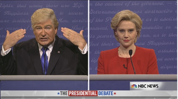 SNL Donald Trump Vs Hillary Clinton Debate