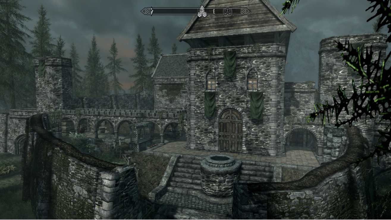 Where Can You Build A House In Skyrim Ps
