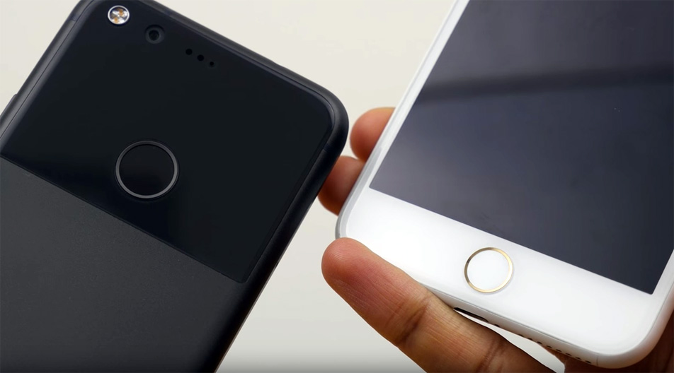 Pixel Vs iPhone 7