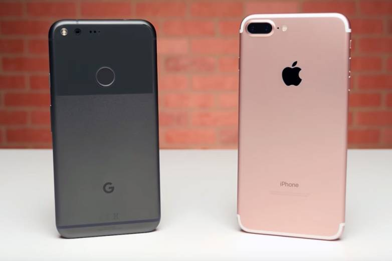 Galaxy S8 vs. iPhone 8 vs. Pixel 2