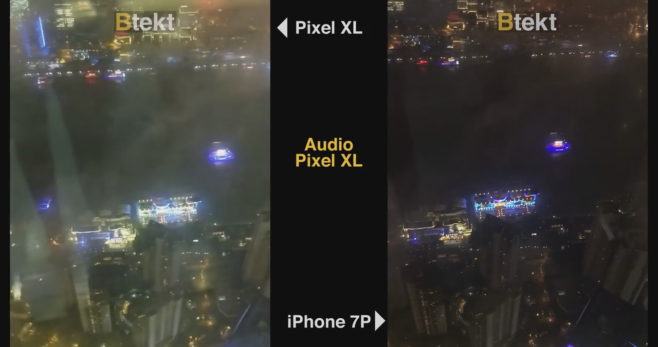 iPhone 7 Plus vs. Pixel XL camera: Video comparison | BGR