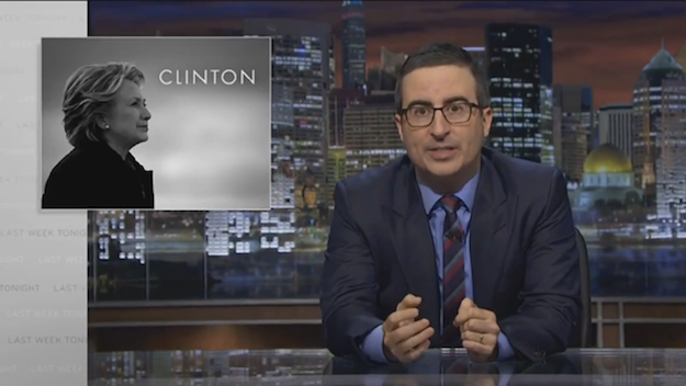 John Oliver Hillary Clinton Emails