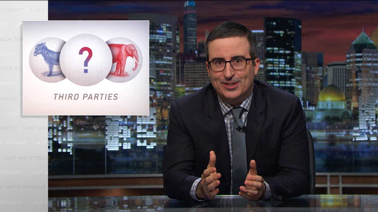 John Oliver Third Parties