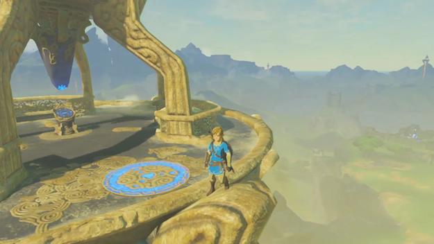 Zelda Breath of the Wild Gameplay Video