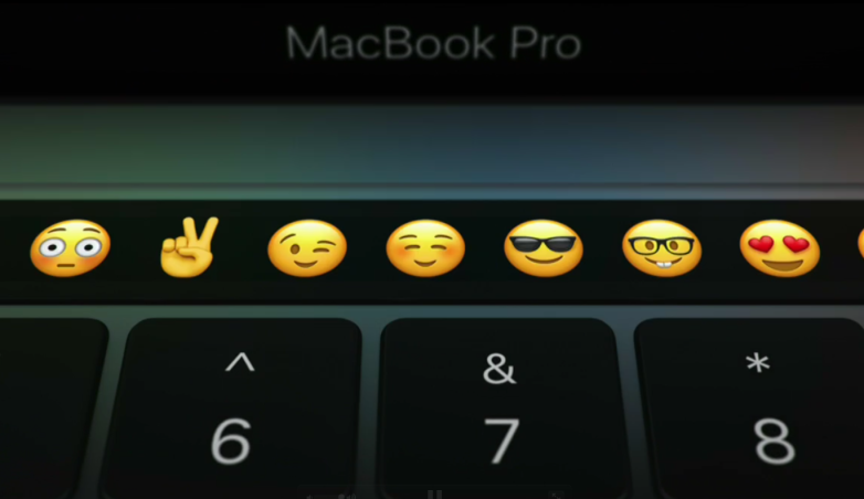 MacBook Pro Touch Bar Settings