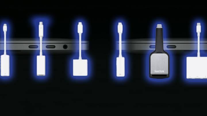 MacBook Pro 2016 Thunderbolt 3 Dongles