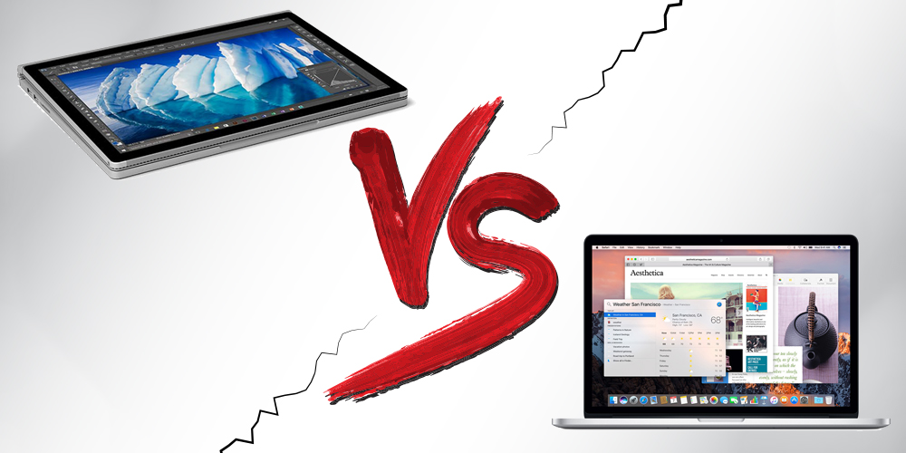 Macbook Pro vs Surface Book