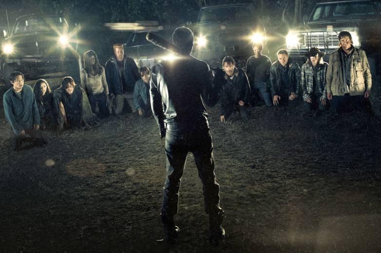 The Walking Dead Negan Cliffhanger Kill