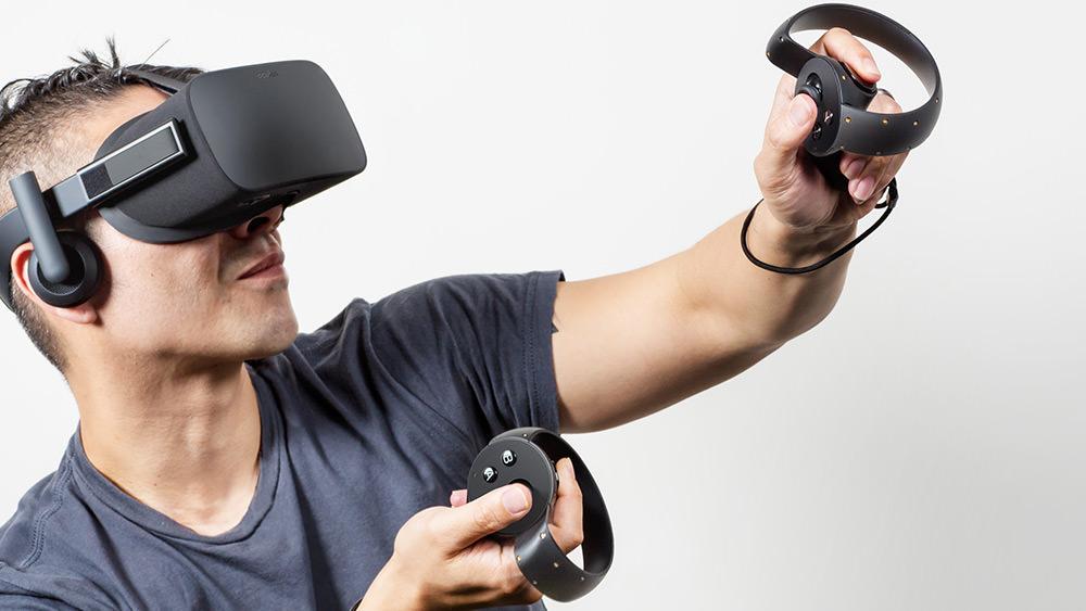 Facebook Oculus touch controller
