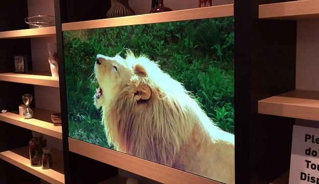 Invisible TV Panasonic
