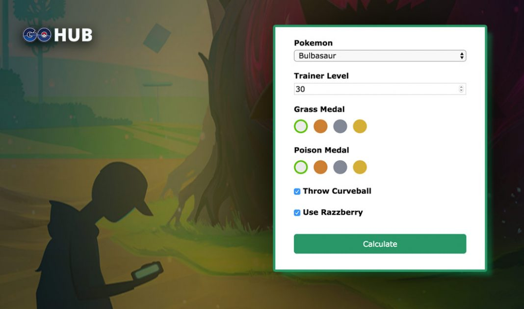 Pokemon Go Catch Chance Calculator