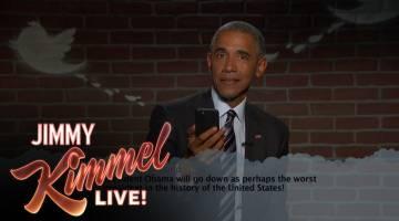 President Obama Mean Tweets