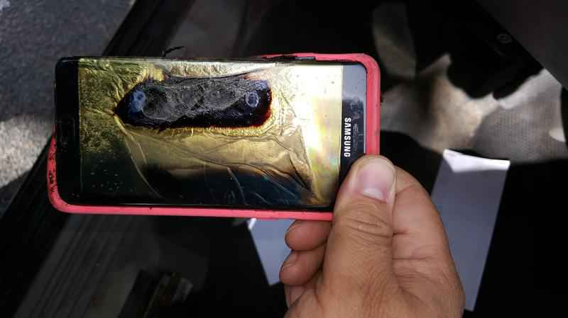 Galaxy Note 7 Explosions Fires